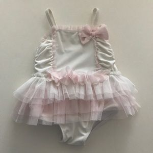 Adorable tutu baby girl swimsuit 🎀👶🏻